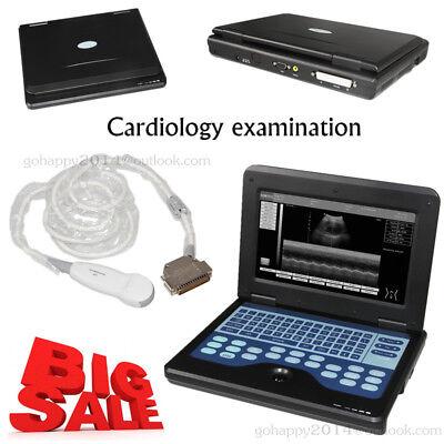 Portable Laptop Ultrasound Machine Scanner Micro-convex Probe Cardiactransducer
