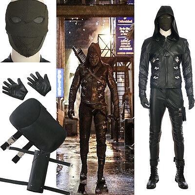 Green Arrow Season 5 Prometheus Cosplay Costume Halloween Accessories Any Size - Arrow Suit