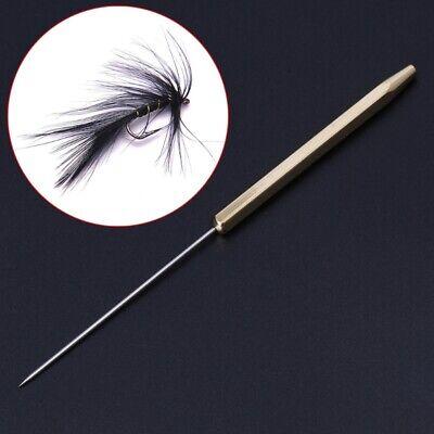 Fly Tying Tool BRASS HANDLE M SHAPE Dubbing Twister Tool Fly Fishing