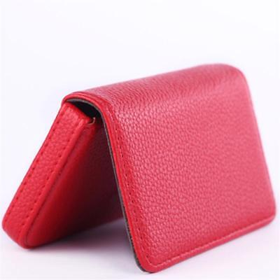 Classic Womens Business Card Case - Men Card-holder Women Fashion Leather Business Card Case Classic Style Handy Box