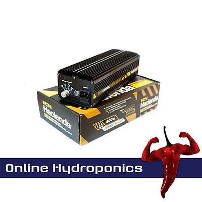 Hacienda 600w Slim-Line Digital Electronic Ballast Dimmable 600w/400w/250w