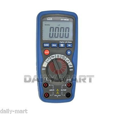Cem Dt-9930 11000 Counts Lcr Meter Digital Inductance Multimeter Tester