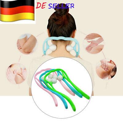 Für Nacken Rücken Schulter Schmerzen Massagegerät Körperteile Roller Ball Weich - Roller Rückenmassagegerät