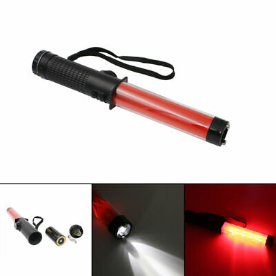 Red Traffic Safety Light Baton Warning Led Light Road Safety Control Outdoor