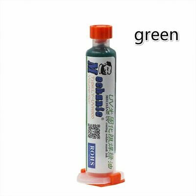 Uv Green Paint Curable Solder Mask 10cc Pcb Bga Circuit Board Protect Fluxes Oil