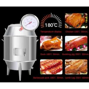 Charcoal Commercial Roast Duck Oven Grill Chicken Goose Barbecue Roaster Cooking Tool220224