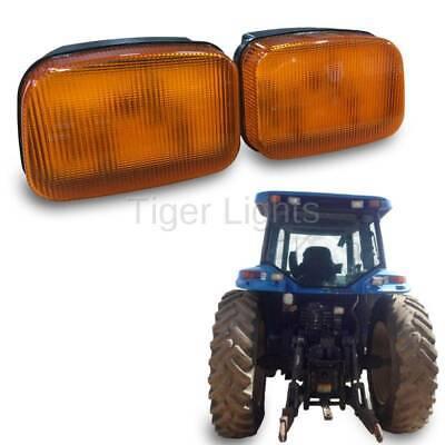 Led Ford New Holland Amber Cab Light Tl7015l - Left Oem 86507530