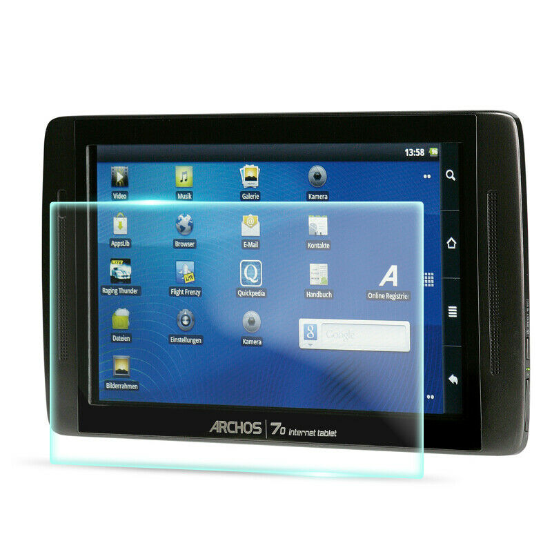 Crystal Clear Screen Protector for Archos 70 Internet Tablet MP3
