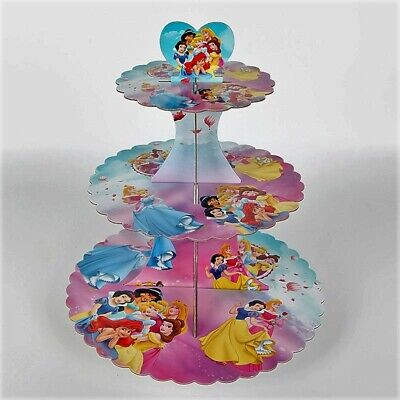 Disney Princess Baby Shower (Disney Princess Three-Tier Cupcake/Snack Stand/Centerpiece Holds 24)