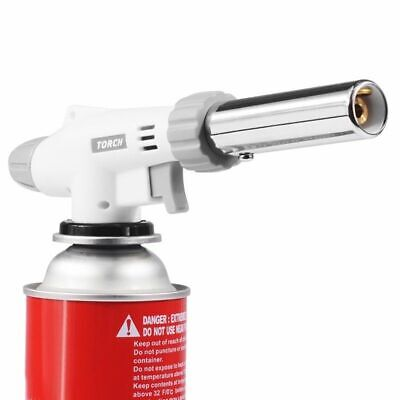 Gas Torch Flame Gun Blowtorch Cooking Soldering Butane Burner Lighter Heating