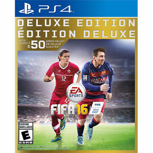 PS4 FIFA 16 Kitchener / Waterloo Kitchener Area image 1