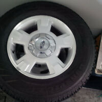 Tires and rims for ford truck