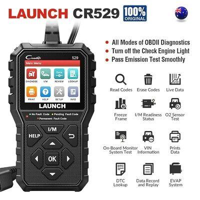 LAUNCH CR529 Car OBD2 EOBD Scanner Auto Code Reader Engine Diagnostic Scan Tool