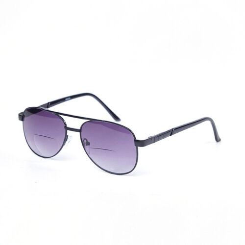 Herren getönt bifokale lesebrille Flieger Angeln Sonnenbrille Vintage AFA606