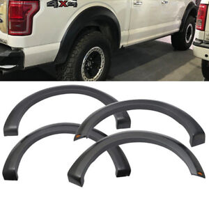 2015 - 17 Ford F150 F-150 New Raptor Style Fender Flares 4PC
