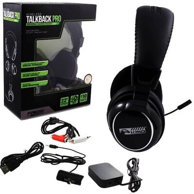 Xbox 360 PS3 PC MAC Universal Wireless Talkback Pro Gaming Headset New for sale  Shipping to Canada