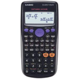 Casio FX83GT Plus Scientific Calculator 260 Functions - UK, United Kingdom - Casio FX83GT Plus Scientific Calculator 260 Functions - UK, United Kingdom