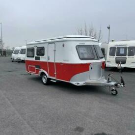 2021 ERIBA Touring Troll 530 Rockabilly Touring Caravan - 3 Berth