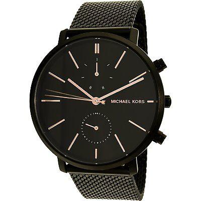 Michael Kors Men's Jaryn MK8504 Black Stainless-Steel Quartz Dress Watch