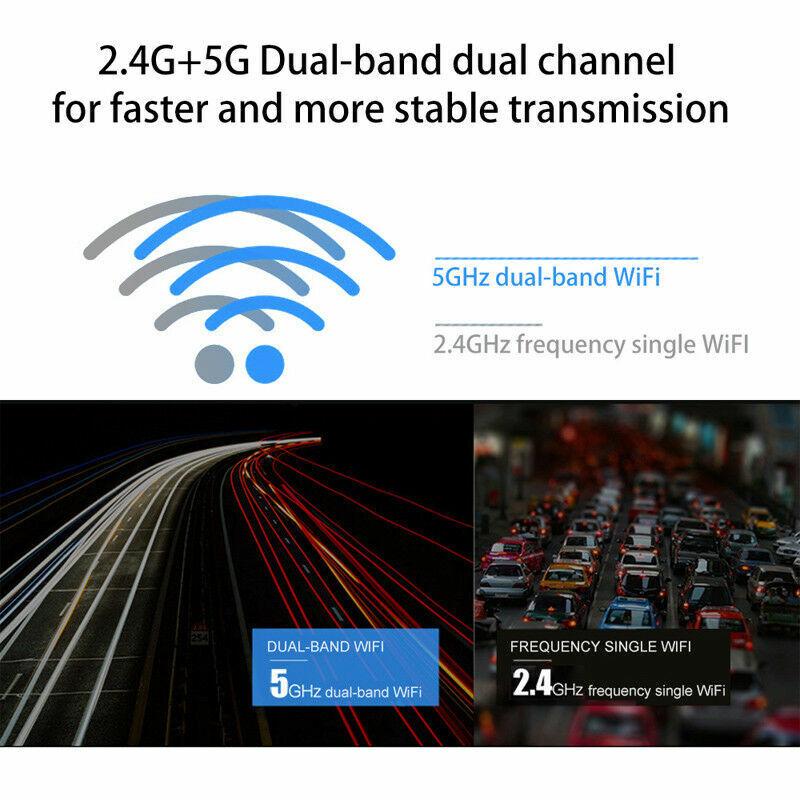 600Mbps Wireless WiFi 5G/2.5G PC