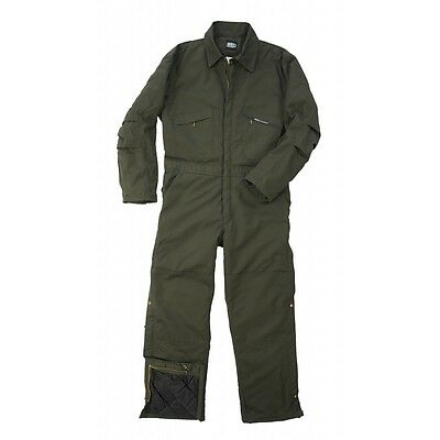 KEY 975.31 Men's Insulated Twill Coveralls