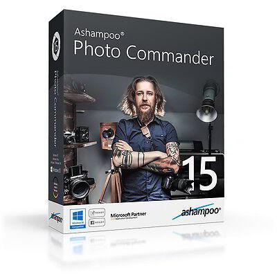 Ashampoo Photo Commander 15 dt. Vollversion ESD Download 9,99 statt 49,99 !