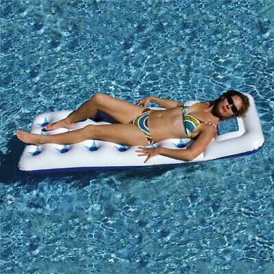 Swimline Aquawindow Inflatable Float Mattress Raft For Swimming Pool Lake Beach ()