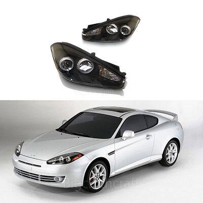 New Genuine OEM Head Light Lamp  (LH&RH) set For 2007-2008 Hyundai Tiburon Coupe