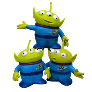 3Pcs/Set Disney Toy Story Alien Plastic Figures Collectible Toys Xmas Gift 6inch