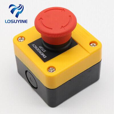 1no1nc E-stop Push Button Switch Emergency Stop