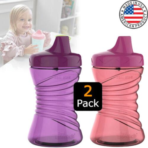 Non Spill Sippy Cups Toddler Leak Proof Warm Milk Bedtime Hard Feeding Bottle
