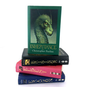 Inheritance Cycle Books Set Complete Series 1-4 Hardcover 1st Ed