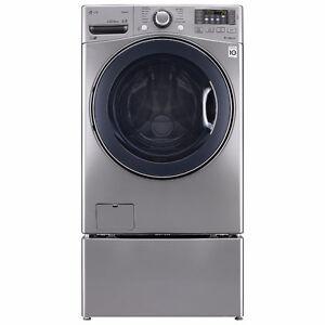 LG WM3570HVA steam washer dryer pairs in Calgary, only $1990.00!
