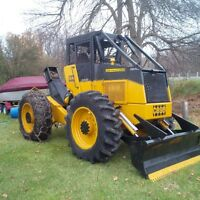 Skidder for hire or logging contractor
