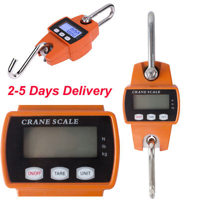 【USA】 Digital Crane Scale 300 KG /660 LBS Heavy Duty Industrial Hanging Scale