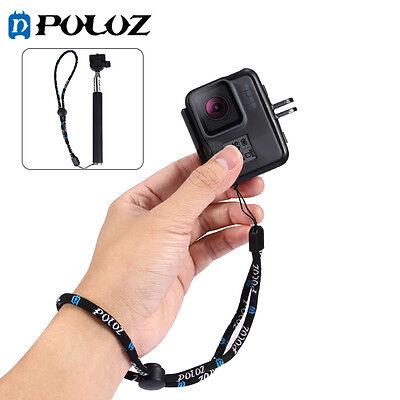 23cm Hand Wrist Strap Adjustable Lanyard For GoPro HERO5 4 3+ 3 2 1,PU151 Adjustable Wrist Lanyard