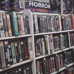 Looking for horror VHS movies