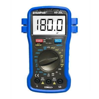 Digital Multimeter Tester Resistance Capacitance Inductanc Hfe Manualrange Meter