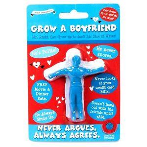 Grow A Your Own Boyfriend Office Christmas Secret Santa Idea Joke Gift Red UK