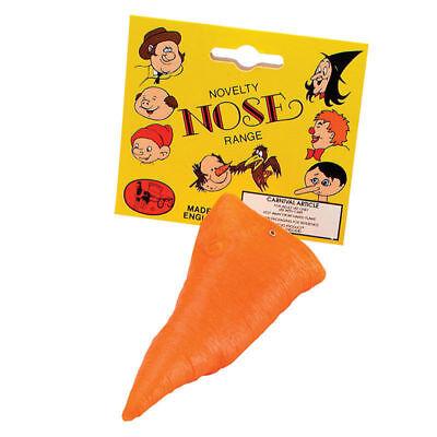 Orange Karotte Geformt Neuheit Schneemann Nase Weihnachten Kostüm Zubehör für