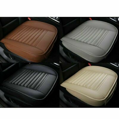 3D Universal Car Seat Cover Pad Mat for Auto Breathable PU Leather Chair Cushion