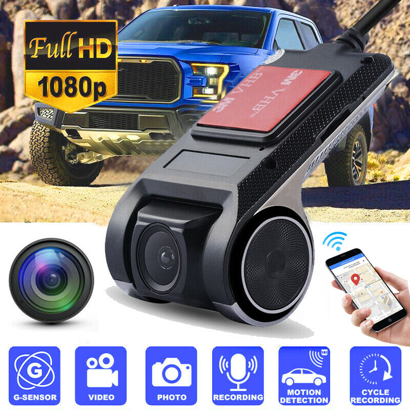Wifi GPS Hidden Car DVR Camera Dash Cam Video Recorder Night