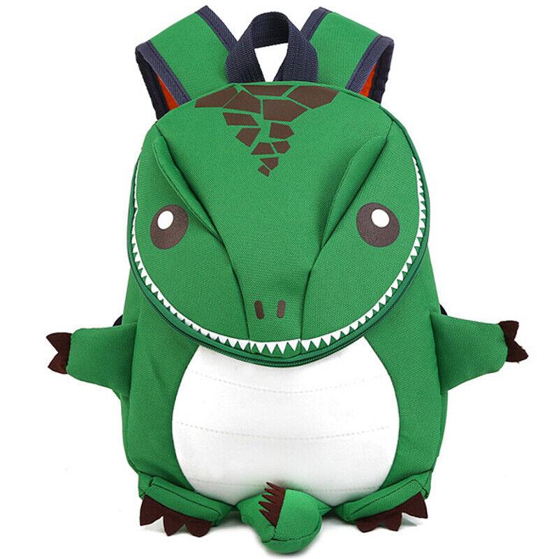 Kid 3D Dinosaur Backpack Boy Girl Cartoon Lovely School Bag Toddler Kindergarden