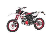 RIEJU MRT 50 PRO TROPHY - YAMAHA-MENARELLI AM6 MOTOR - SUPERMOTO