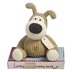 Boofle Resin Money Box With Stopper Lovely Childrens Moneybox Gift Idea