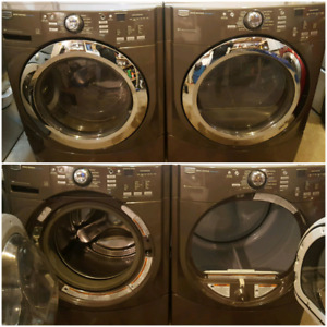 Maytag 9000 series steam washer and dryer