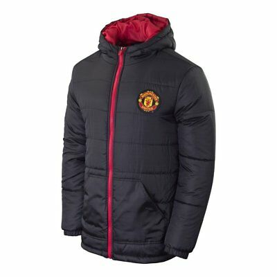 Manchester United Mens Light Down Jacket Home  X Small