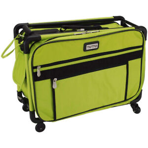 Tutto 4220 LIME Art Supply Totes Carrier Bag Machine Wheels Case