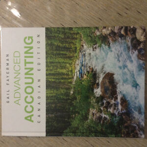 Advanced Accounting, Canadian edition, by Gail Fayerman