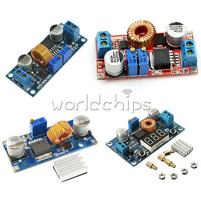 5a Dc-dc Step Down Buck Converter Module Power Supply Xl4015 Led Lithium Charger